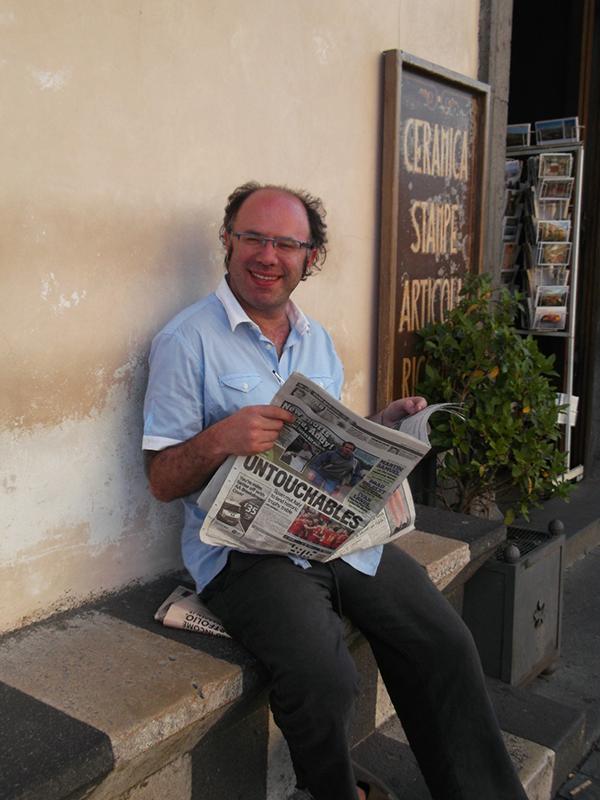 Photograph of author Baret Magarian