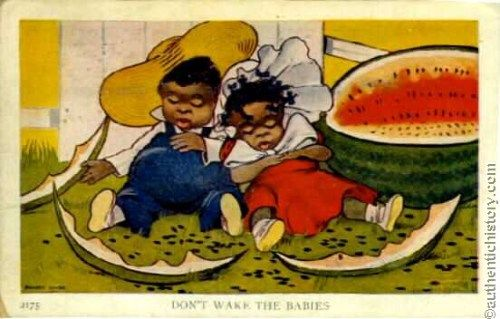 Racism Watermelon